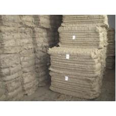 Длинное волокно № 10  (пакля 10 кг.) Высший сорт